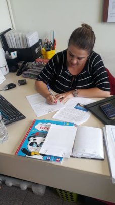 Head Teacher Patricia