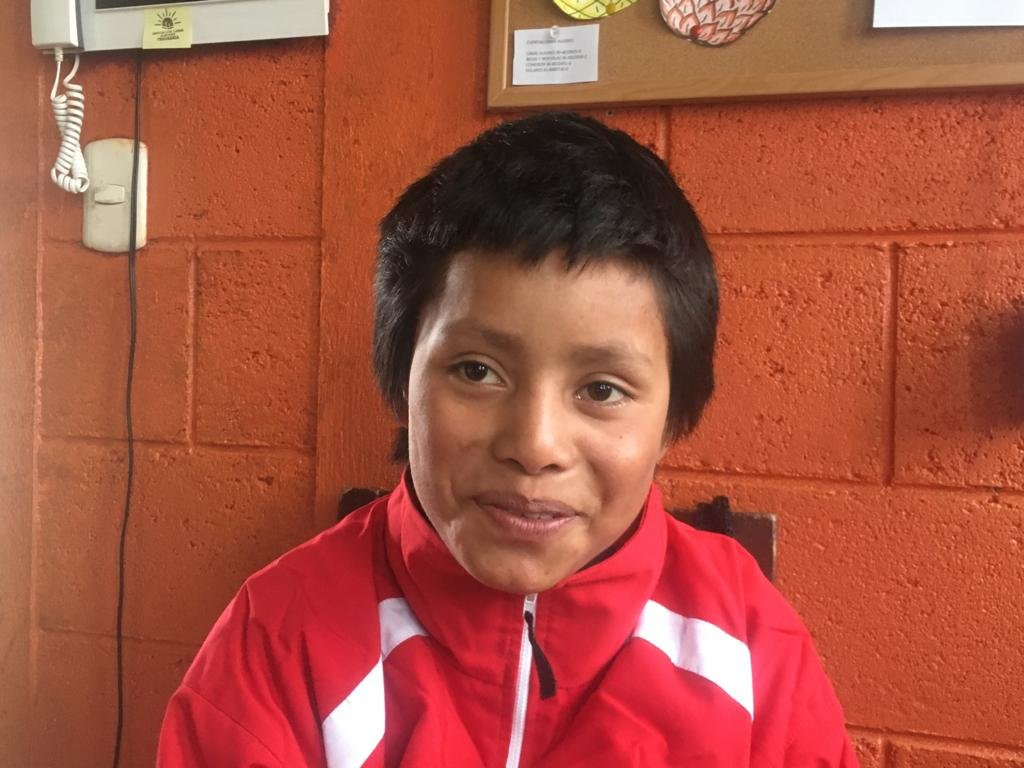 Juan Carlos, 14, future architect in the making!