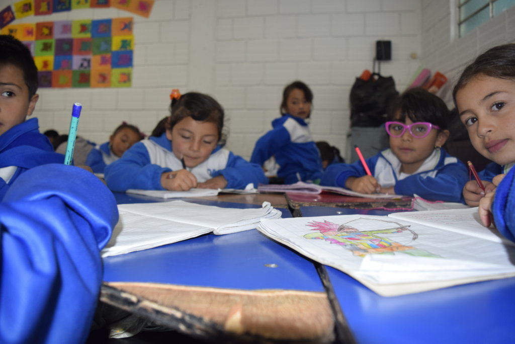 Equip Classrooms for School Children in Colombia