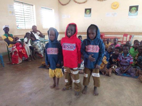 Children of Oualana nursery school