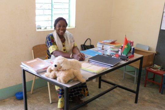 Director of the nursery school of Fina