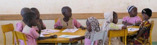 More kids from the nursery school