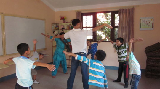 Group counseling for boys