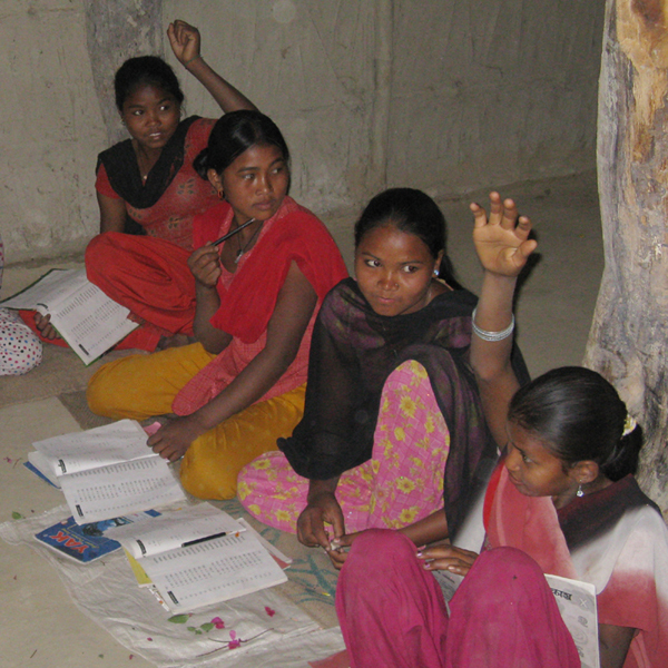 These girls are free from slavery and in school, thanks to NYOF