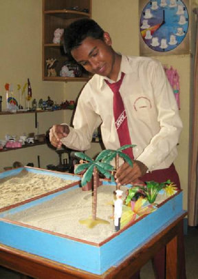 Narayan received life-changing counseling from NYF