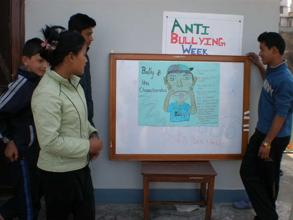 Children learn to protect themselves from bulllies
