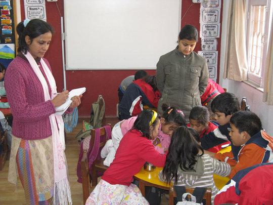 Observing Students' Behavior