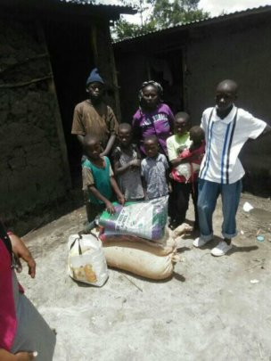 food aid for a family