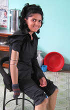 A disabled girl with unimagined opportunities