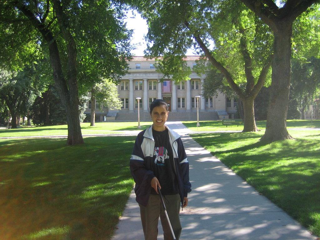 Nirmala at college