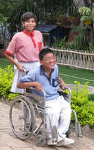 Disabled children are happy to get an education!