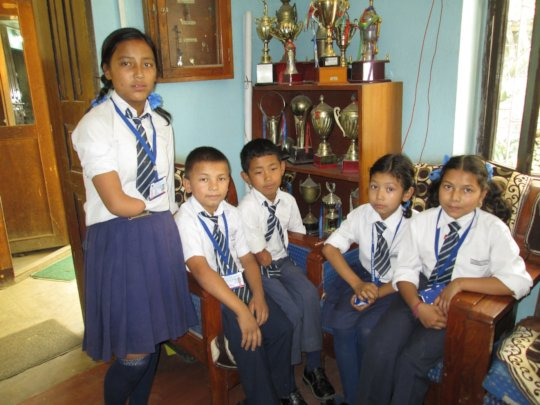 Disabled School Scholars Proudly Wearing Uniforms