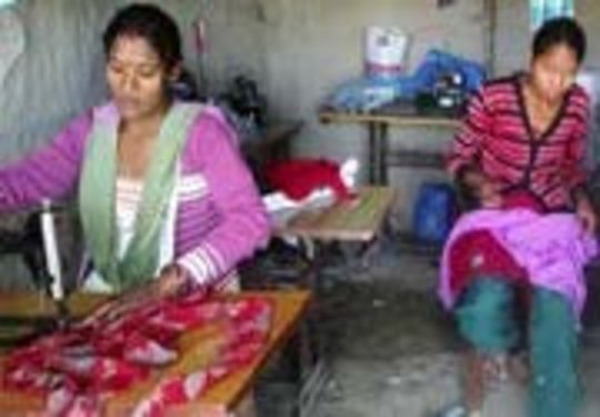 Bandhiya started a successful tailoring business