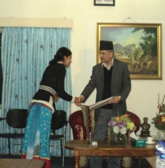 FKDF Delegate Meeting with Nepal Prime Minister