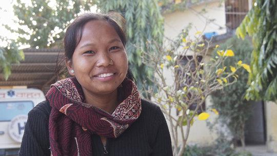 Renu delivers babies at a rural maternity hospital