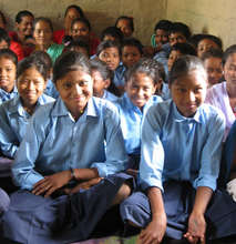 Formerly enslaved girls, now free to go to school