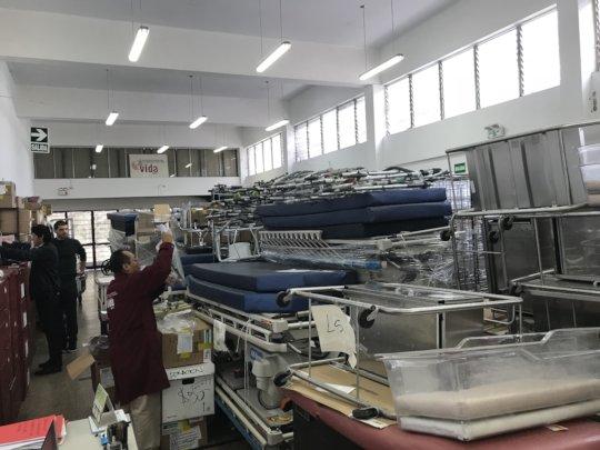 Donations Arrive at VIDA Peru Warehouse