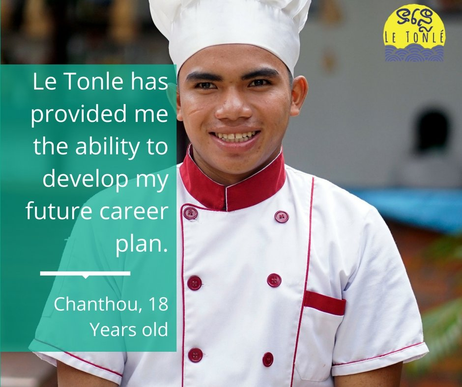 Chantou take new role at Le Tonle