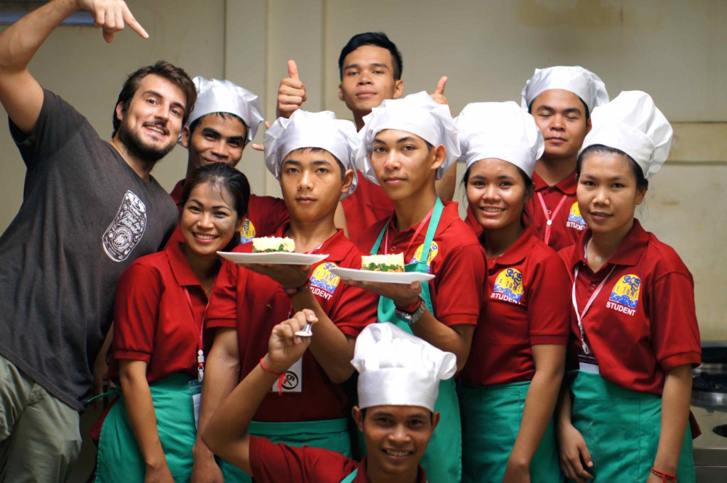 Hospitality Training for Disadvantaged Youths