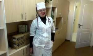 Nurse in Luhansk