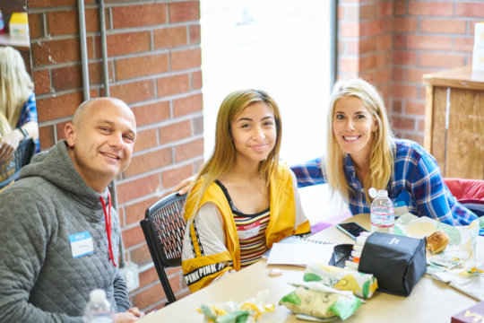 Julie, Kelly, and Delaney