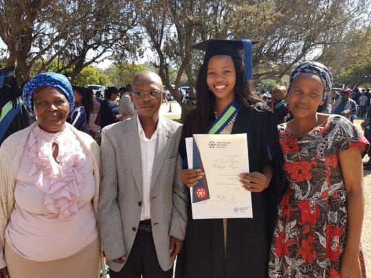 Phunyezwa & Family - Graduation 2017