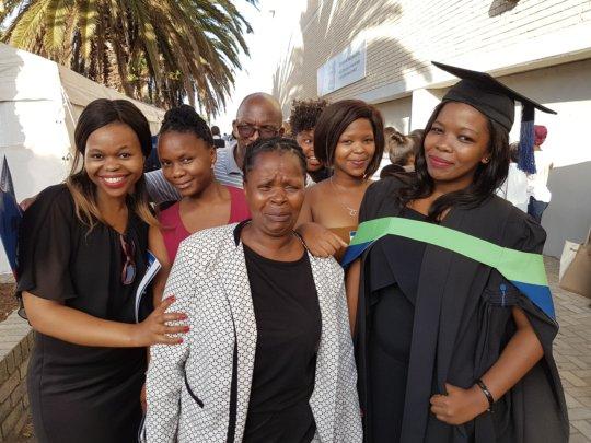 Busiswa & Family - Graduation 2017