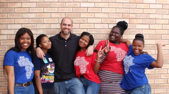Girls on Masi Scholarships
