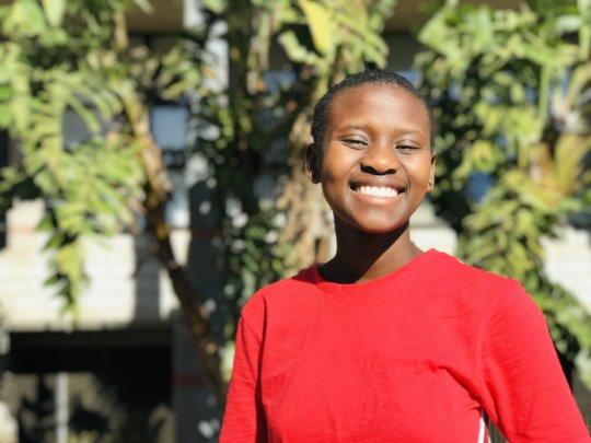 Girl's Scholarship Photo