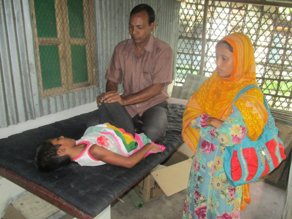 Donate to Health Services for 60 Disabled Children