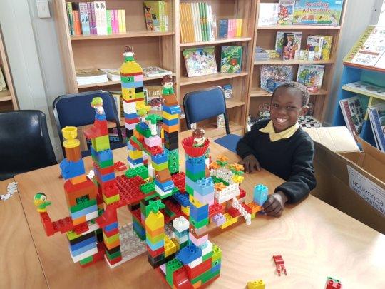 New Library Legos