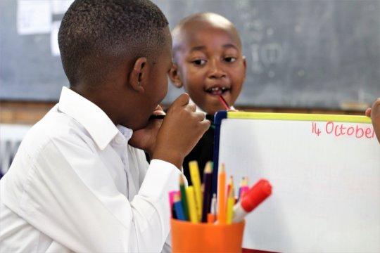 Children in Literacy Centre