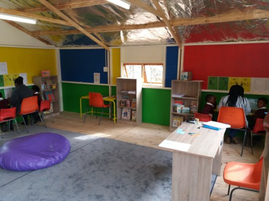 New Isaac Booi Library / Literacy Centre