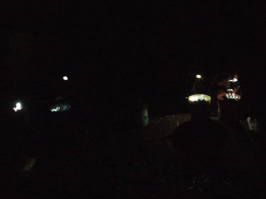 Solar lights in dark markets at Zeze