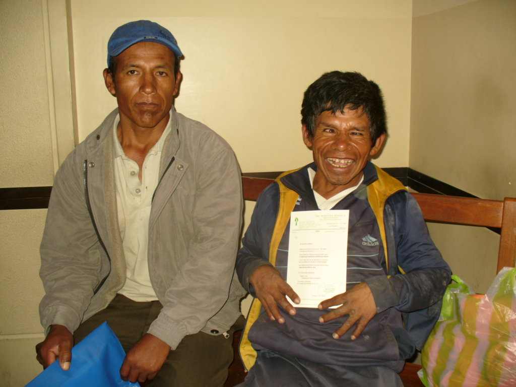 Disability ID Card for People in Rural Bolivia