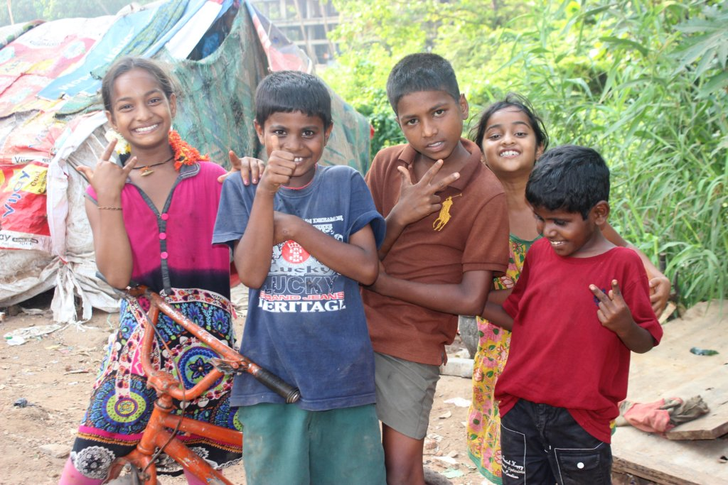 Build a Home for 75 Street/Slum Children in India