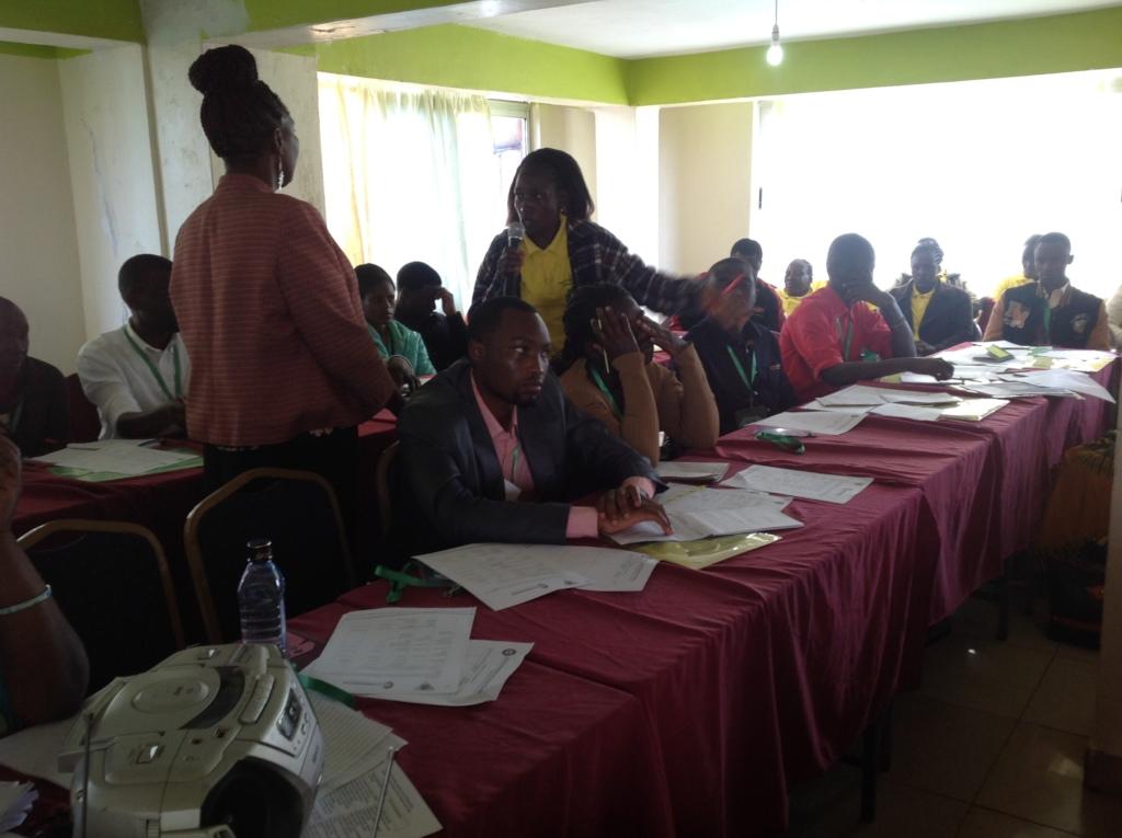 CHHRP Joyce sharing positive stories of their work