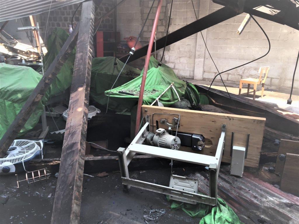 Fire Devastates Sewing Program - Help Us Rebuild