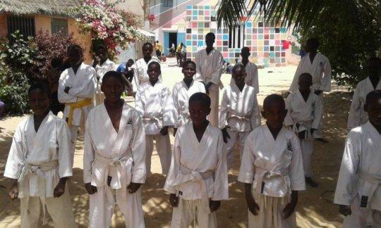 Maison de la Gare -Sor karate class