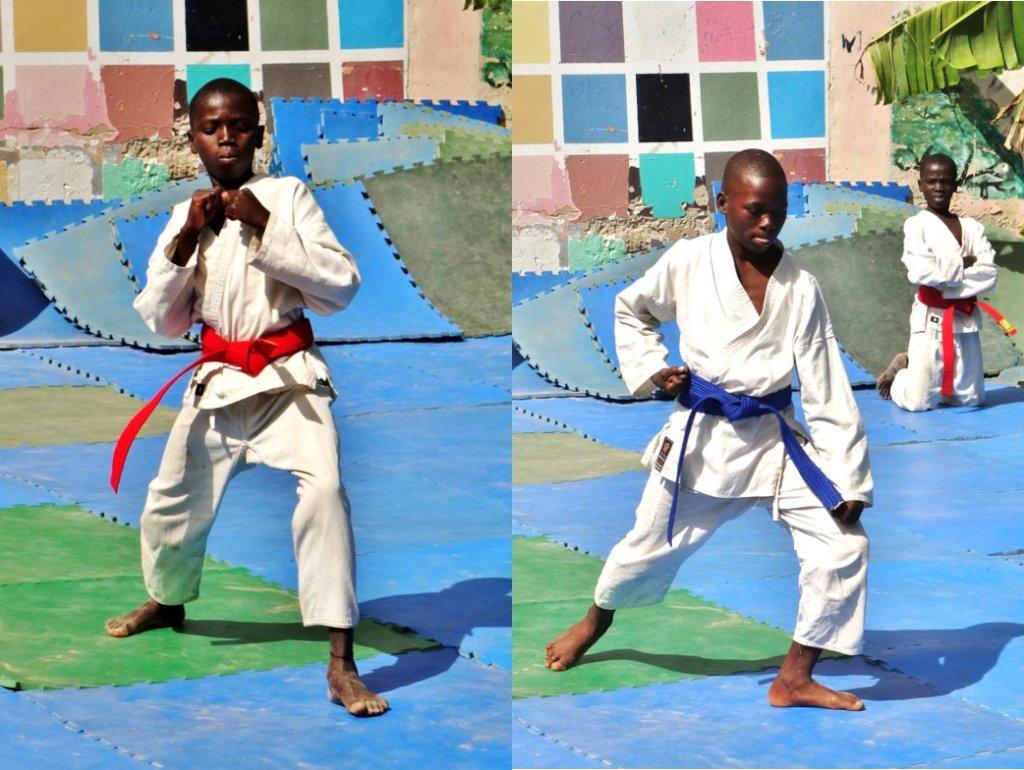 Reports on Karate Can Kick Hopelessness - GlobalGiving