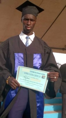 Tijan's graduation: the impossible is possible