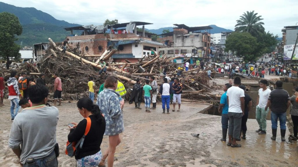 Disaster Relief for Mudslide in Mocoa, Colombia