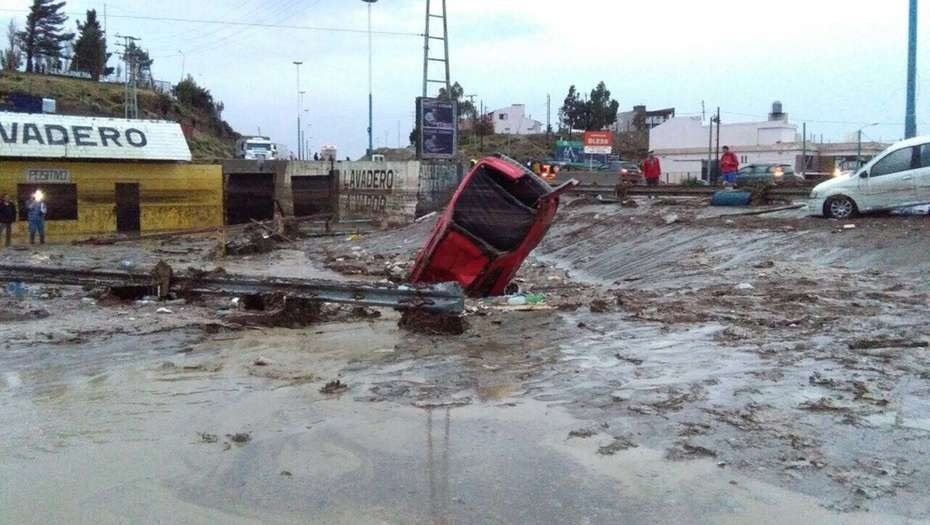 Rebuilding the city of Comodoro Rivadavia