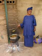 Nutrition: Abby is cooking for 25 HIV+ patients