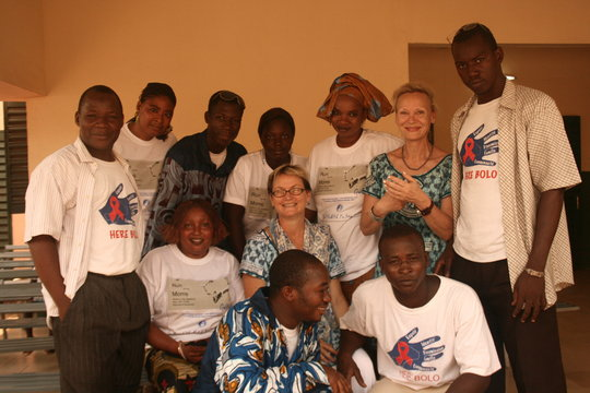 HIV and TB care at the village level in Mali