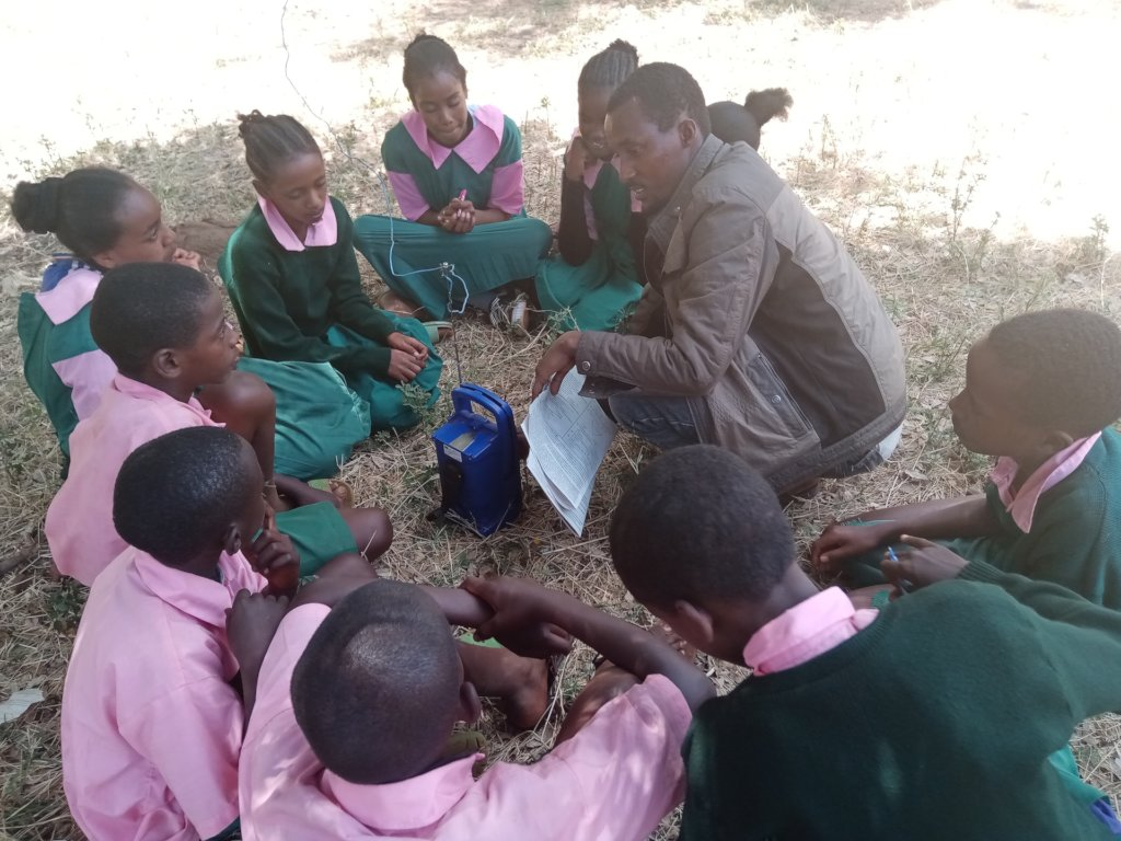 Audio learning in Marsabit