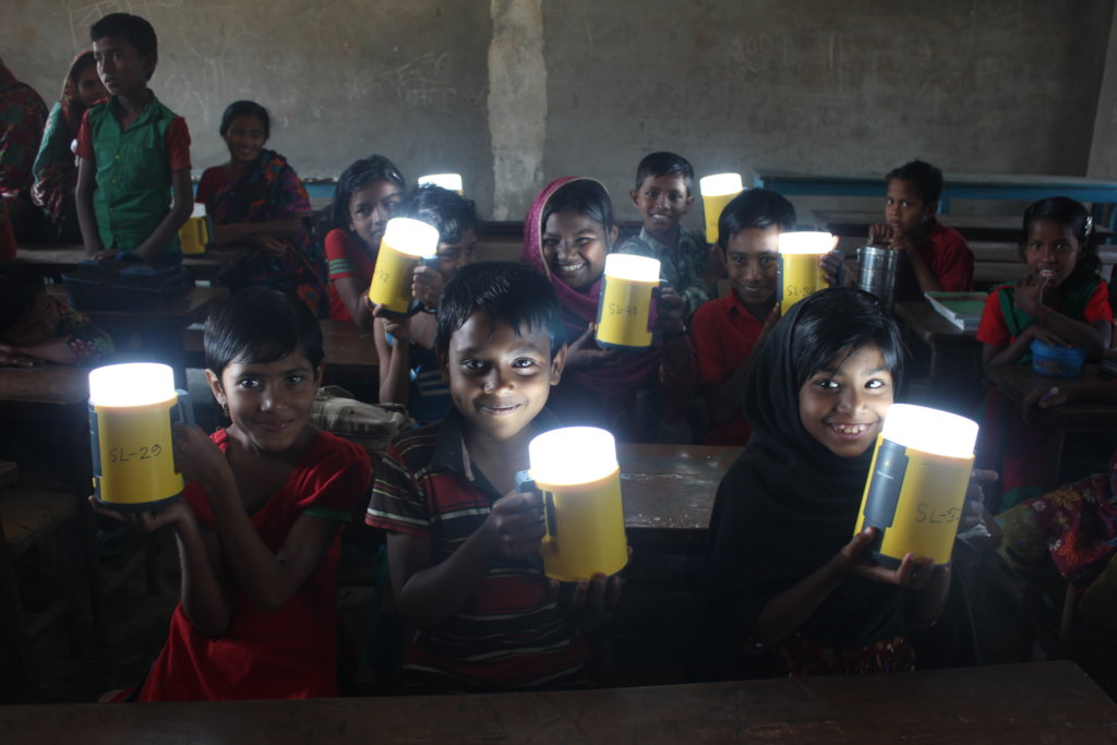 Change Student's Life by Supporting a Solar Lamp