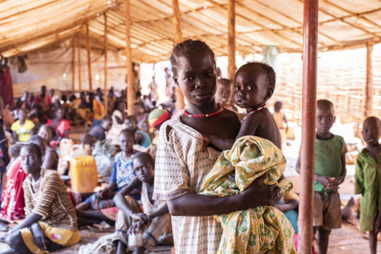 Refugee Camp in Southern Sudan
