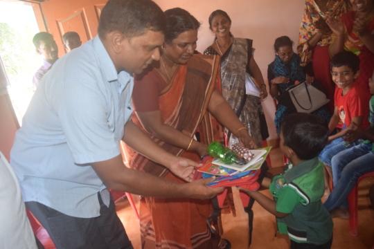 Notebooks distribution