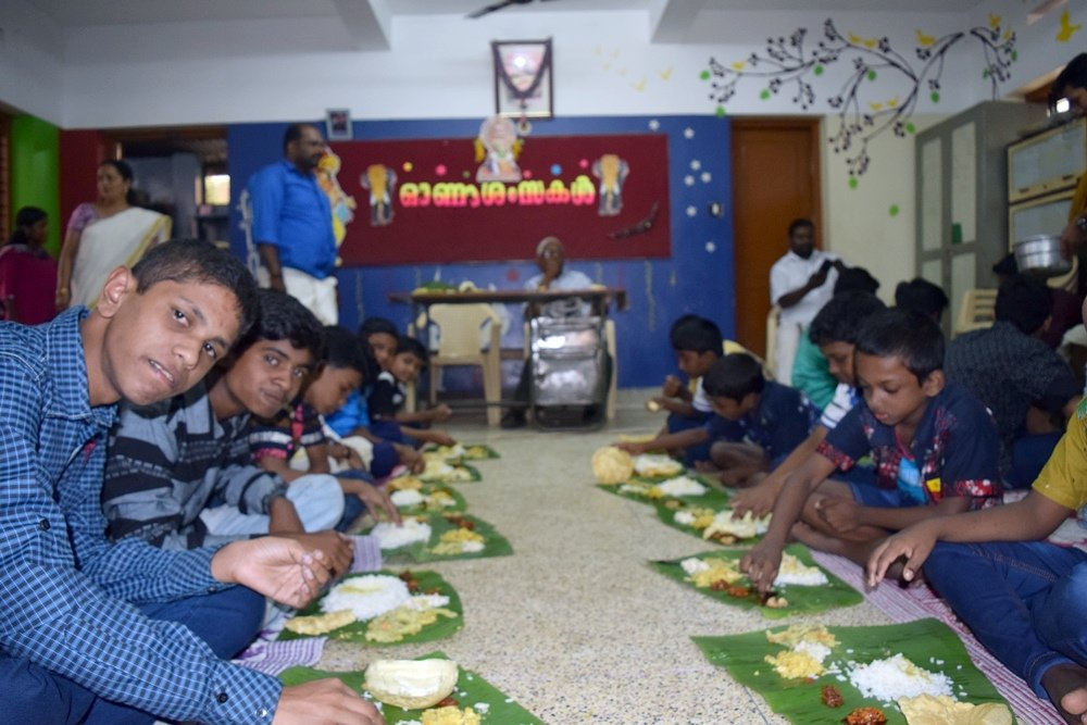 Feed 60 at Risk Street Children in india